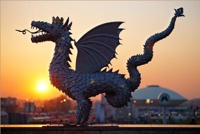 Змей Зилант — символ Казани